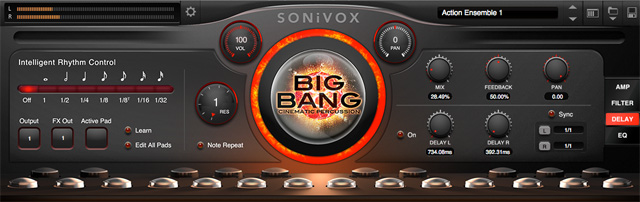 Big Bang Cinematic Percussion 2.1