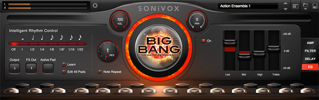 Big Bang Cinematic Percussion 2.2