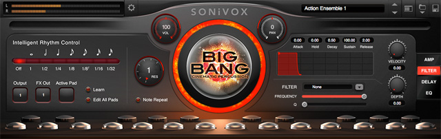 Big Bang Cinematic Percussion 2.3