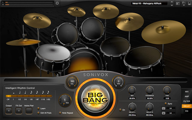Big Bang Universal Drums 2.2