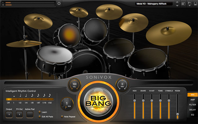 Big Bang Universal Drums 2.1
